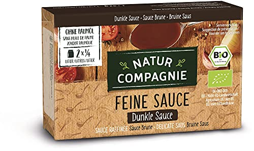 Natur Compagnie Bio Dunkle Sauce feinkörnig (6 x 42 gr)