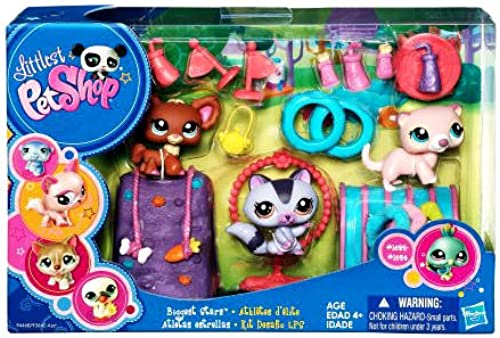 Littlest Pet Shop Biggest Stars Playpack by Hasbro (English Manual)
