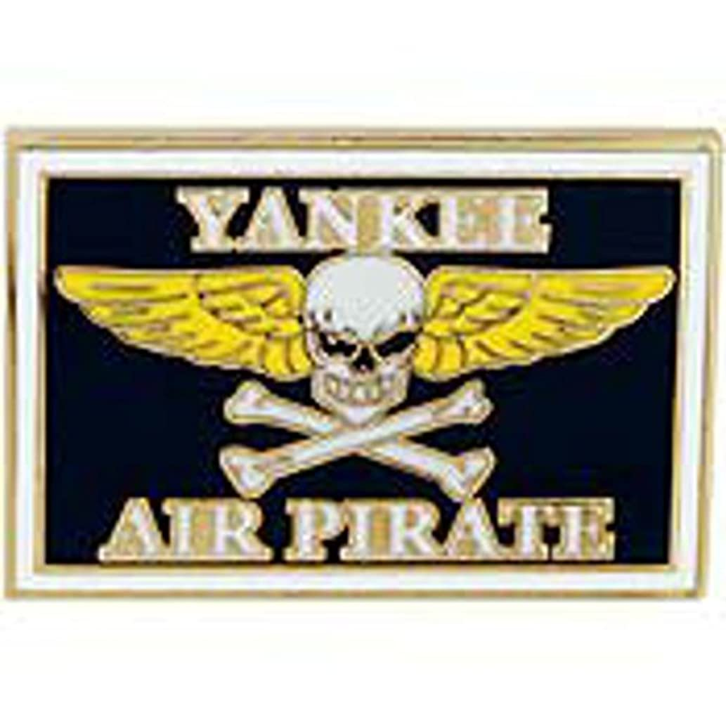 EagleEmblems P14982 Pin-Yankee Air Pirate (1'')