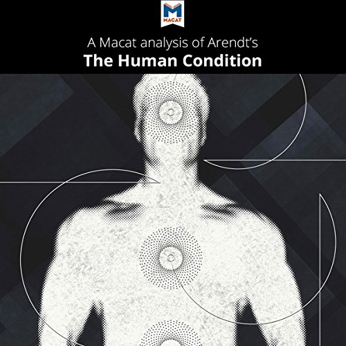A Macat Analysis of Hannah Arendt's 'The Human Condition' audiobook cover art