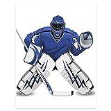 HommomH 50x80 Inch Hockey Sports Blanket Fluffy Cozy Throw Team USA Hockey Goalie Protection Jersey Sport Wear Illustrations