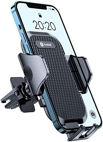 Andobil Car Phone Mount Upgraded Metal Clip Ultimate Cellphone Car Air Vent Holder Easy Clamp product image