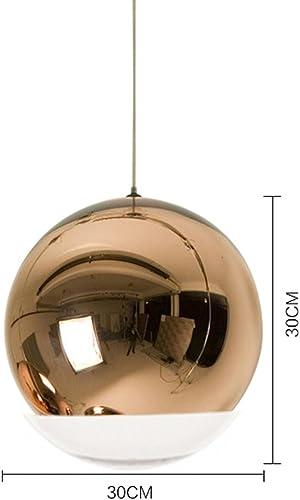 PIGE Lustre moderne en acier galvanisé ( Couleur   Brass-30cm )