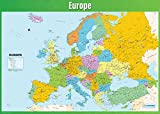 Daydream Education Weltkarte, Geographie-Poster,