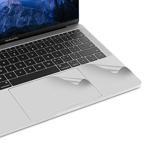 『NEW 13インチMacBook Pro 2016-2019 トラックパッド保護フィルム 内側保護シール (シルバー)』のトップ画像