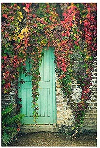 YuLiZP Puzzle 1000 Piezas,Rompecabezas De Madera Regalo De Liberación De Presión para Adultos Decoración del Hogar Kit De Bricolaje Gate To Secret Garden