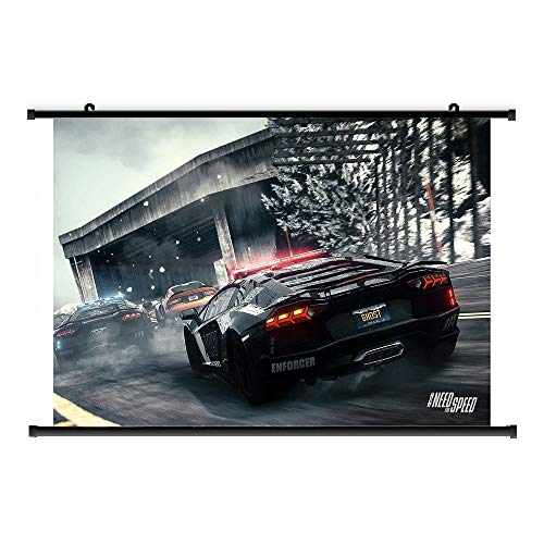 LTY Games: Need for Speed Fabric Poster/Wall Scroll & Murals, 40 x 60 cm, BS-1088