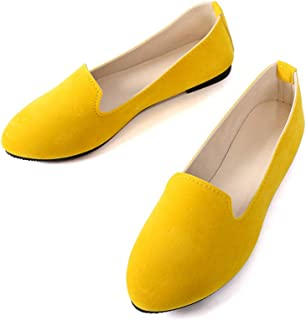 9dc5dee822074 Amazon.com: Yellow Women's Flats