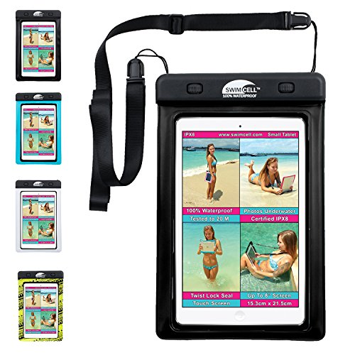 SwimCell Waterproof Case For iPad mini cover, Tablet, Kindle, Pouch,...