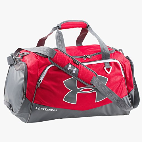 Under Armour Undeniable Duffle Gym Bag , Red /White, Medium