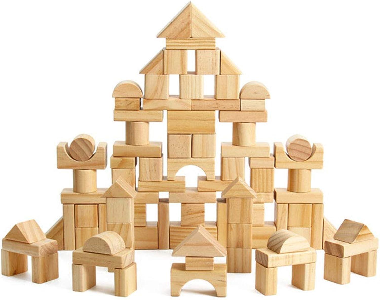 varios tamaños TOYA 100 Piezas Piezas Piezas de Madera Juguetes educativos para Niños DIY 2-3 años  mejor opcion