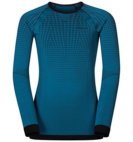 Odlo Evolution Warm Shirt Langarm, grün türkis, 140
