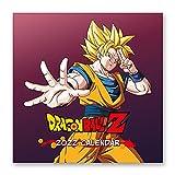 Calendario Dragon Ball 2022 incluye póster - Calendario 2022 pared - Calendario 12 meses - Calendario anual│ Calendario de pared - Calendario mensual - Producto con licencia oficial