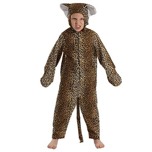 Charlie Crow Disfraz de leopardo para niños de 5 a 7 años