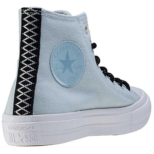 Converse Unisex Chuck Taylor All Star II High, Polar Blue/Buff/White, Size 5.0