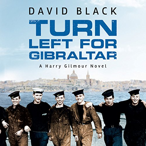 Turn Left for Gibraltar audiobook cover art