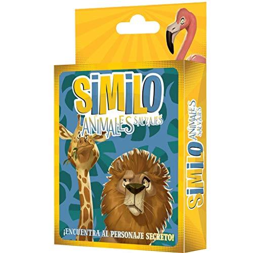 Horrible Games - Similo Animales Salvajes Juego de Cartas en español (Asmodee HGSI0005)