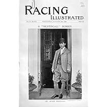 Nightingall Priamロッジのアイバーの1896の競馬のスポーツの旧式な印刷物