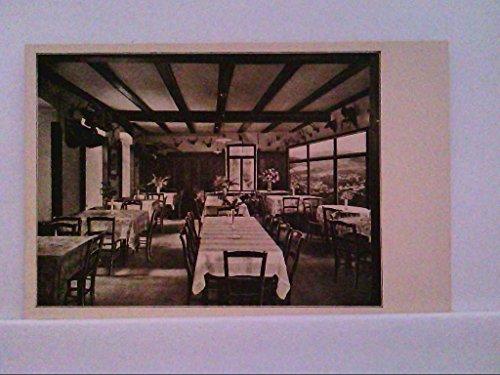 AK Baden - Baden, Altes Schloss, Innenansicht des Jagdzimmers des Restaurants.