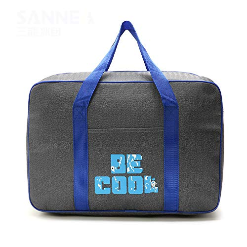 OPLJ Lunch Box Then When The Bag Picnic Bag Hand-Held Insulation Bag Outdoor Picnic Cold Pack Aluminum Film Ice Bag Size 42 x 17 x 28 cm capacidad Lunch Camping Picnic