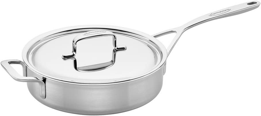 Demeyere 5-Plus OFFicial Stainless Direct sale of manufacturer Steel 3-qt Pan Saute