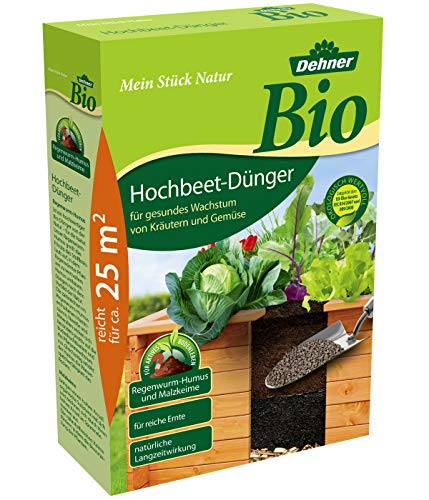 Dehner Bio Hochbeet-Dünger mit Langzeitwirkung, 1.5 kg, für ca. 25 qm