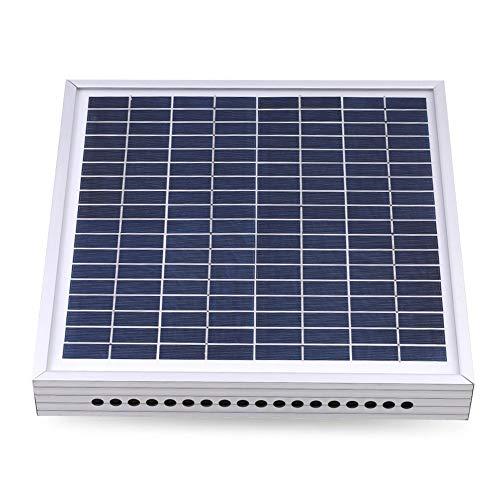 Chine Gewächshaus SolarFan Gewächshauslüftung Solar-Dachventilator Treibhaus Umluftventilator Solar-Thermostat Ventilator Dachventilator Dachventilator Tragbare Falten Solar-Monokristalline