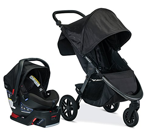 Check Out This Britax B-Free & B-Safe Ultra Travel System, Midnight