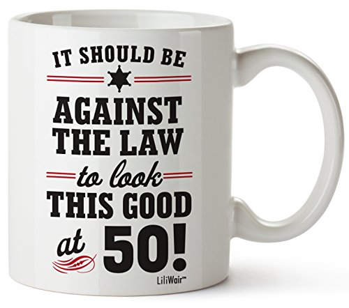 50th Birthday Gifts For Women Fifty Years Old Men Gift Mug Happy Funny 50 Mens Womens Womans Wifes Female Man Best Friend 1970 Male Unique Mugs Ideas 70 Woman Wife Gag Dad Cute Girls Guys Good Husband