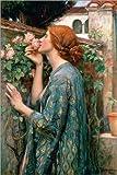Poster 40 x 60 cm: Die Seele der Rose von John William
