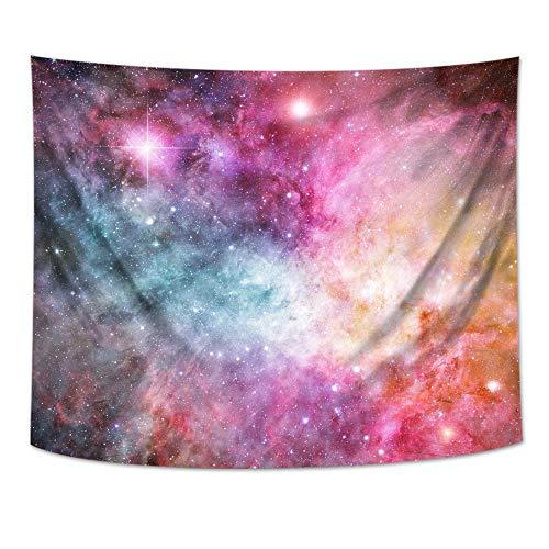jtxqe Sala de Estar Tapiz Rectangular Estrella impresión Digital Lienzo Pintura Mural Manta 02 200 * 180 cm