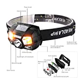 Lampe Frontal 7000 Lumen Led Headlamp Motion Sensor Ultra Bright Hard Hat Head Lamp Powerful Headlight Usb Rechargeable Waterproof Lampe De Poche