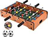 Famous Quality® Mid-Sized Football Table Soccer Game with 4 Rods Toys for All