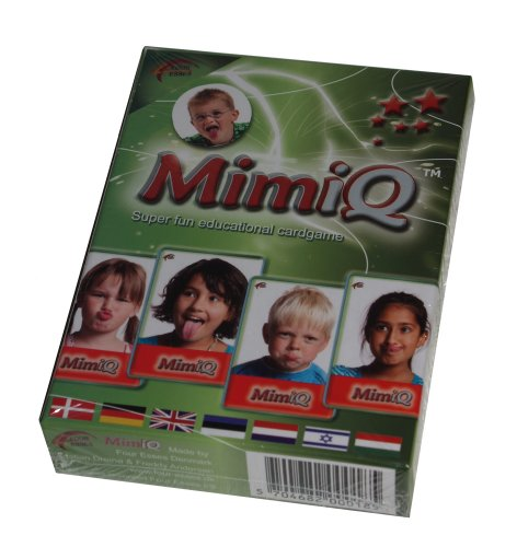 MimiQ - Kartenspiel zur Förderung der Mundmotorik / 33 Karten (9 x 6 cm) / für 2 bis 4 Spieler ab 4 Jahren geeignet