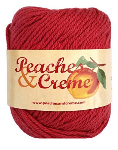 Pfirsich- & Cremefarben, 100 % Baumwolle, #1530 Rouge Red