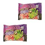 Columbina Scary Eyeballs Bubble Gum, 40-ct. Bags ( 2 pack )
