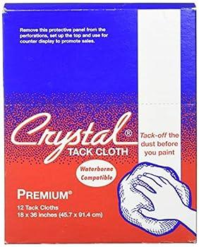 Premium Tack Cloths Bond Crystal Brand 18  x 36  12 Cloths Per Box