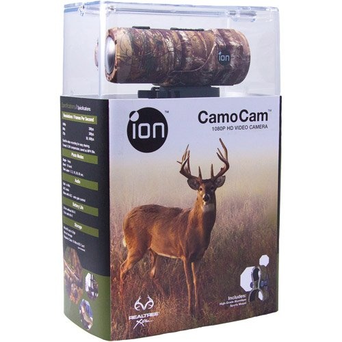 ION CamoCam 1080p HD Video Camera - WI-FI Enabled Water Resistant