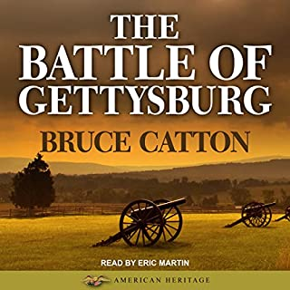 The Battle of Gettysburg audiobook cover art