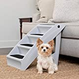 PetSafe CozyUp Folding Pet Steps - Foldable Stairs for Dogs and Cats -...