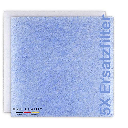 5 Filter für Lüfter LIMODOR Serie compact - Limot Lüftungsgeräte Ersatzfilter Staubfilter Luftfilter Limodor-Filter - Art.-Nr.: 00070 - made in Germany