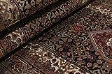 Nain Trading Indo Täbriz 305x84 Orientteppich Teppich Grau/Dunkelbraun Handgeknüpft Indien - 5