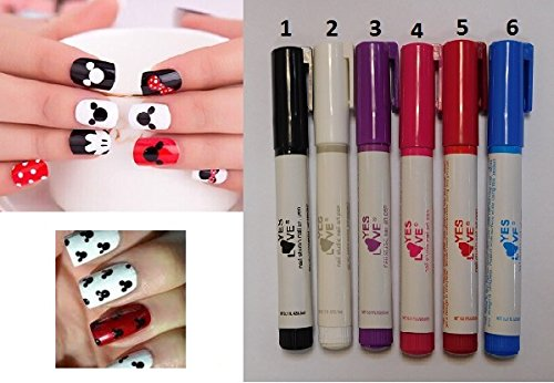 Stylo Manucure - Rose - YES LOVE - Vernis Decor Ongles Beaute - 948