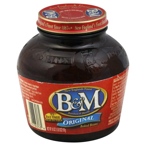 B and M Original Baked Beans, 18 Ounce - 12 per case.