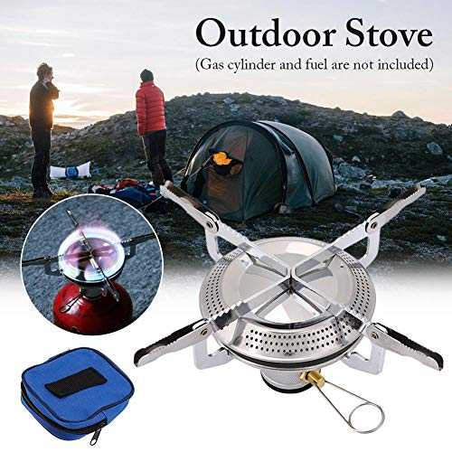 Why Choose 4000W Ultralight Windproof Camping Gas Stove, Portable Small Mini Backpacking Hiking Stov...