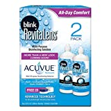 Blink Revitalens Multi-Purpose Disinfecting Solution, 10 oz. (2 Count)
