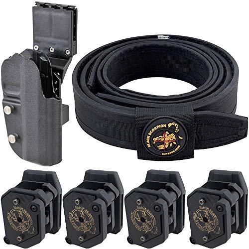Black Scorpion Outdoor Gear Combo Grand Master Production USPSA (4 Storm I + Holster 1911 Uspsa + 1 Belt LBK)