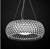 Wojia Caboche nórdica restaurante minimalista Club Villa Zeus sudor Kaposi lámpara de araña de bola de plasma