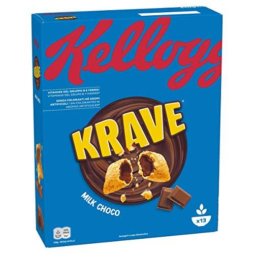 Kellogg's Choco Krave, Cioccolato al Latte - 410 g