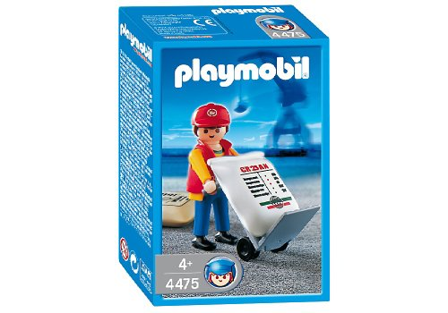 PLAYMOBIL® 4475 - Hafenarbeiter mit Sackkarre